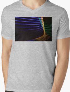 Light Painting - Neon Mens V-Neck T-Shirt