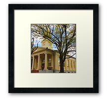 Judicial Square, Old Town Warrenton Framed Print