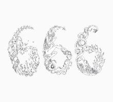Satanic Abstract 666 by TobyT