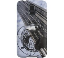 Silver and Blue Planet Earth Samsung Galaxy Case/Skin