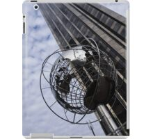 Silver and Blue Planet Earth iPad Case/Skin