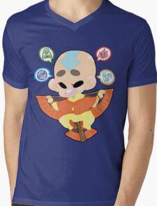 Avatar the Last Airbender || Aang Mens V-Neck T-Shirt