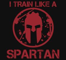 I TRAIN LIKE A SPARTAN T-Shirt