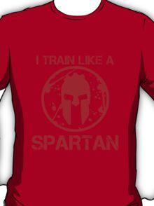 I TRAIN LIKE A SPARTAN T-Shirt