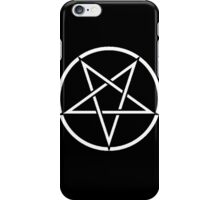 Satanic Pentagram iPhone Case/Skin