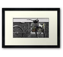 As Time Cycles Past Framed Print