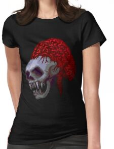 SKULL & BRAINS Womens Fitted T-Shirt