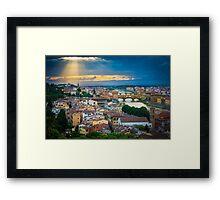 Firenze Sunset Framed Print