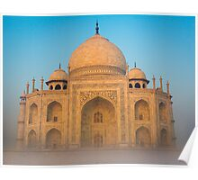 Glowing Taj Mahal Poster