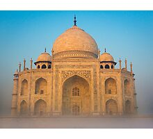 Glowing Taj Mahal Photographic Print