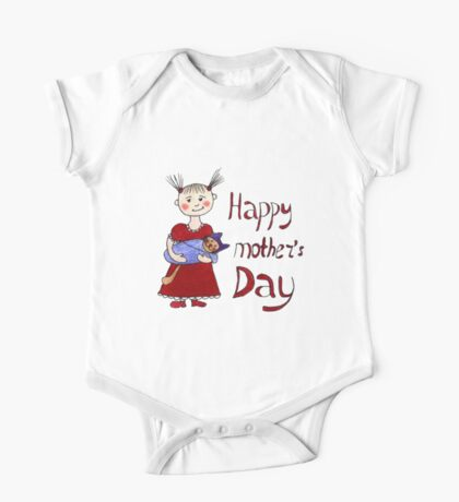 Mother's Day One Piece - Short Sleeve
