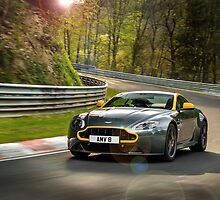 The new Aston Martin N430 testing at the Nurburgring in Germany ... by M-Pics