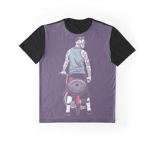 Low Ride Skull WithTattoo Graphic T-Shirt