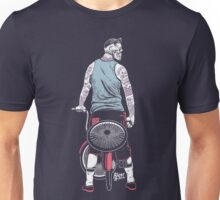 Low Ride Skull WithTattoo Unisex T-Shirt