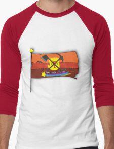 Gravity Falls: Take Back The Falls - Gold Men's Baseball ¾ T-Shirt