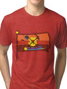 Gravity Falls: Take Back The Falls - Gold Tri-blend T-Shirt