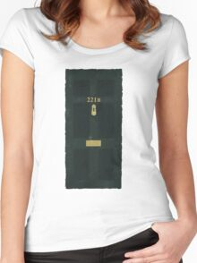 221B Door Women's Fitted Scoop T-Shirt