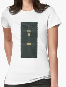 221B Door Womens Fitted T-Shirt