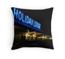 Holiday Lodge Throw Pillow