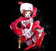 Anastasia - Inked by jebez-kali