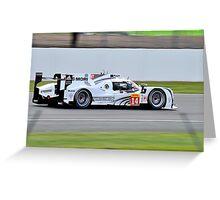 Porsche Team No 14 Greeting Card