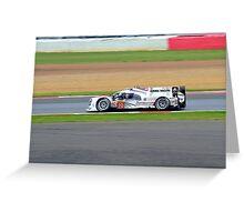 Porsche Team No 20 Greeting Card