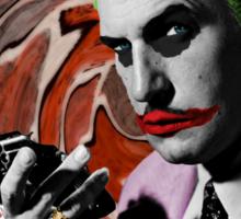 The Joker + Vincent Price Mash Up Sticker