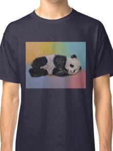 Baby Panda Rainbow Classic T-Shirt