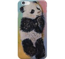 Baby Panda Rainbow iPhone Case/Skin