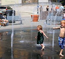 Water Park - Cincinnati Ohio 2014 by Tony Wilder
