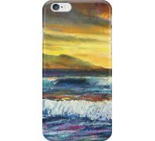 Banna beach sunset iPhone Case/Skin