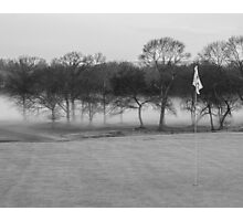 Fog on the 9th Photographic Print