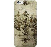 Ancient Art Ink On Vellum iPhone Case/Skin