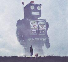 BEWARE THE GIANT ROBOTS! by yurishwedoff