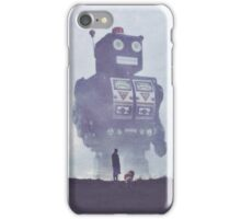 BEWARE THE GIANT ROBOTS! iPhone Case/Skin