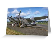 DH98 Mosquito B.35 RS712/EG-F N35MK  Greeting Card