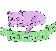 Go Away Cat by nik-schaaf