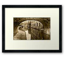 Rochdale Canal, Hebden Bridge Framed Print