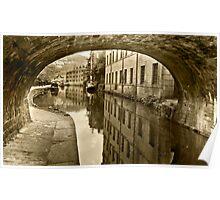 Rochdale Canal, Hebden Bridge Poster
