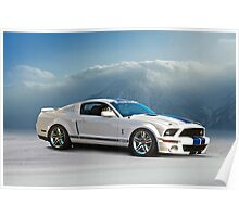 2014 Shelby GT500 Cobra Poster