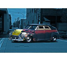 1947 Ford Rat 'After Midnight' Rod Photographic Print