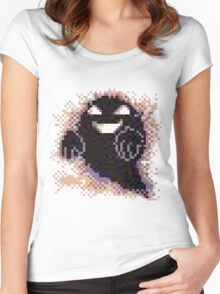 The Ghost of Lavender Town Women's Fitted Scoop T-Shirt