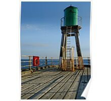 Whitby Pier Lighthouse  Poster