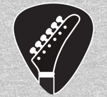 Guitar Pick - Krammer Style Headstock by cpotter