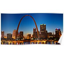 Saint Louis Skyline Poster