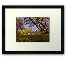 Modern And Ancient Framed Print