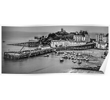 Toy Harbour Tenby Poster