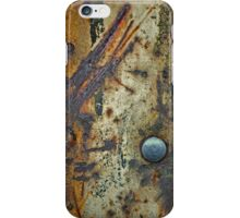 Barn Door No.3 iPhone Case/Skin