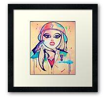 Army Girl Framed Print