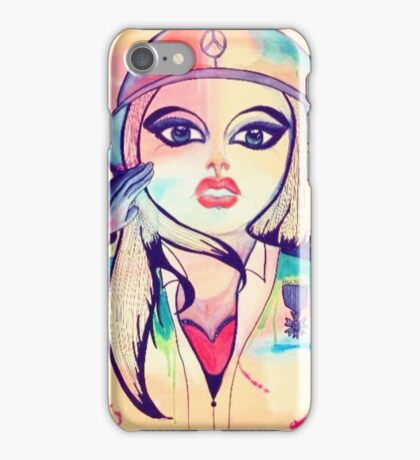 Army Girl iPhone Case/Skin